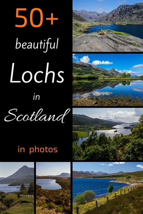 best scottish 50 of the best lochs in scotland most scenic map and
