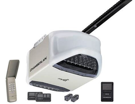 Garage Door Opener Hp Chamberlain Pd612ev 1 2 Hp Myq Enabled Chain Drive Review