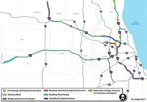 maps illinois tollway