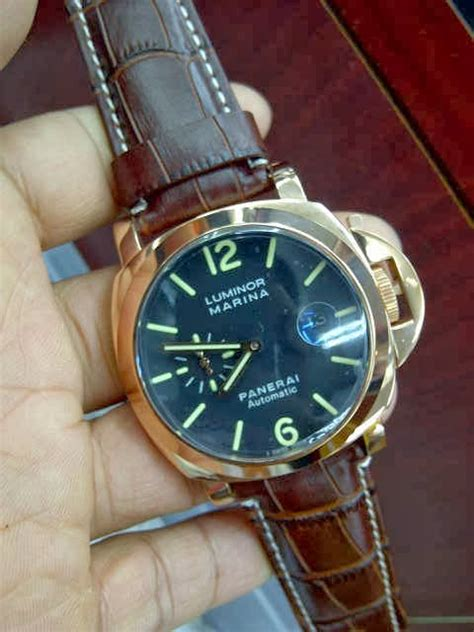 Jam Tangan Panerai Luminor Marina Gold jam tangan luminor panerai