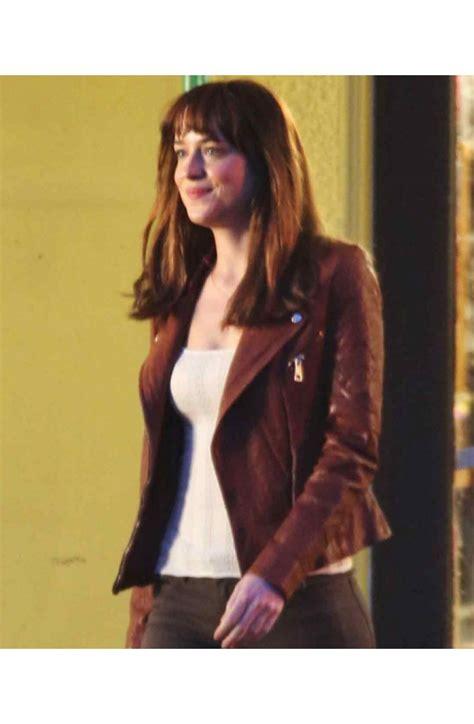 fifty shades of grey film review guardian anastasia steele fifty shades of grey dakota johnson jacket