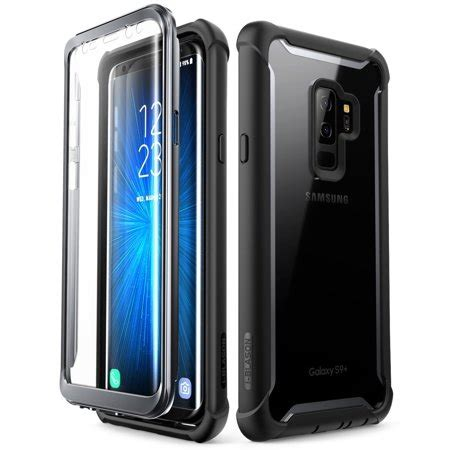 samsung galaxy   case  blason ares full body rugged clear bumper case  built