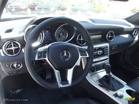 Slk 250 Interior by Black Interior 2013 Mercedes Slk 250 Roadster Photo