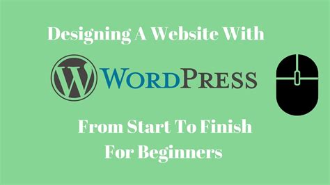 tutorial build website with wordpress build a site or blog with wordpress 2017 getting started