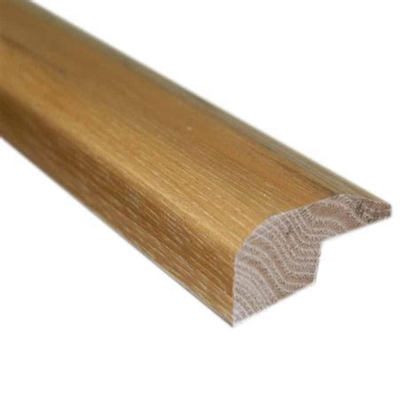 millstead unfinished oak 0 88 in thick x 2 in wide x 78 in length carpet reducer baby