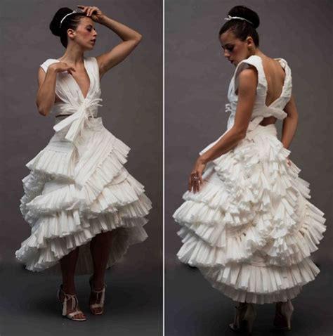 paper wedding dress a toilet paper wedding dress things