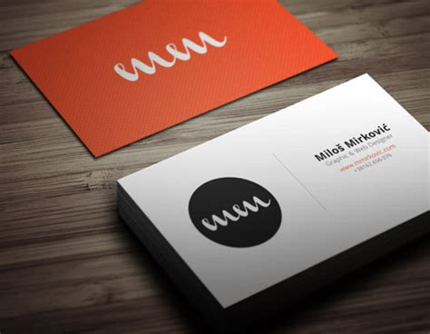 %name what to put on a personal business card