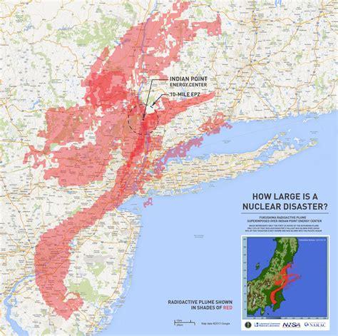 nuclear map maps showing radioactive contamination kick nuclear