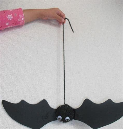 bat crafts for preschool crafts for bouncy bat craft