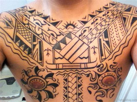 awesome tribal tattoos for guys 61 stylish tribal tattoos on chest
