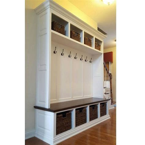 entryway lockers with bench 25 best ideas about hall tree with storage on pinterest