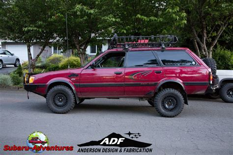 subaru loyale lifted overview for highvolkage