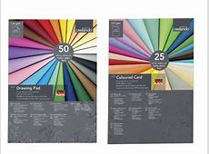 CRELANDO Coloured Card or Drawing Pad - Lidl — Great ... Lidl