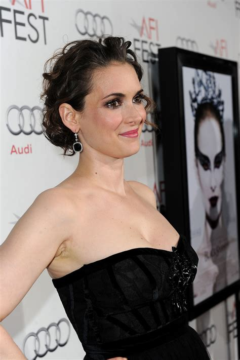 Winona Is Back And So Is Cleavage by Winona Photos Photos Afi 2010 Presented By