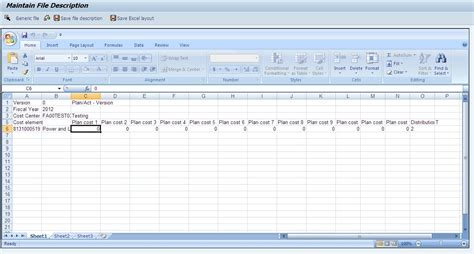 facility layout excel add in co om cost center planning for 12 months with excel upload
