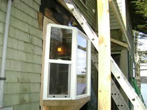 pond endeavor company bay window with new shed roof