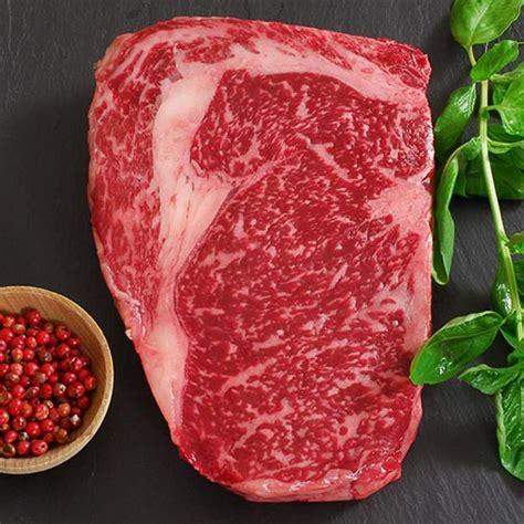 Wagyu Rib Eye wagyu rib eye ms8 whole cut to order steaks