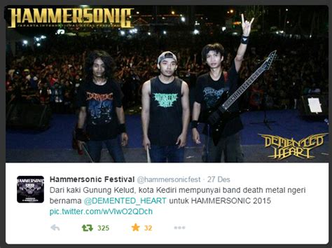 Sho Metal Yg Kecil demented live in hammersonic 2015 just lio