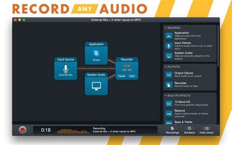 Audio Hijack Records Any Audio On Your Mac Including Itunes by Capture Any Audio On A Mac With Audio Hijack 3 Mac Rumors