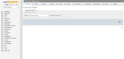 membuat form login dengan php tanpa database membuat login dengan phpmyadmin cara membuat database di