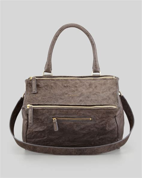 Givency Togo Bag 1 givenchy pandora medium pepe satchel bag charcoal in brown lyst