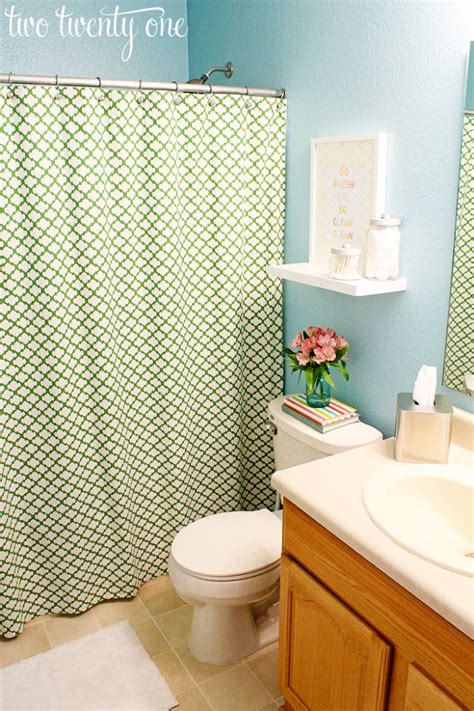 blue and green bathroom 2013 home goals two twenty one
