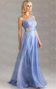 floor length chiffon a line one shoulder prom dress