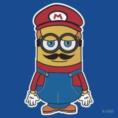 Casing Samsung Galaxy 1 Mario And Luigi Minions Custom H union minion he s patriotic with a capital p so