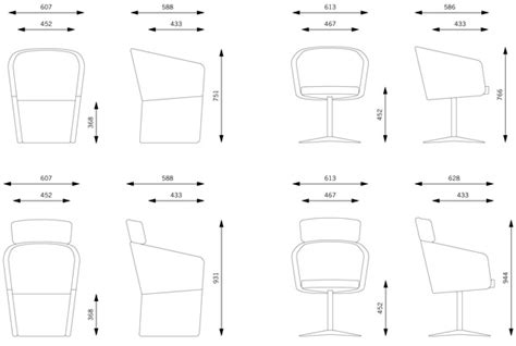 office chair dimensions in mm club chair bene office furniture