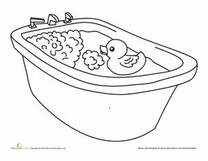 rubber duck worksheet education com