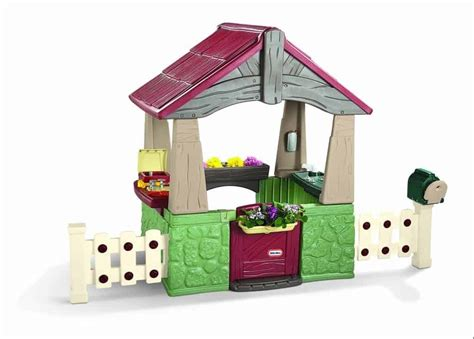 cool backyard toys wooden or plastic playhouses cool outdoor toys