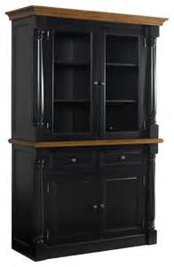 Hutches For Dining Room monarch black buffet and hutch contemporary china