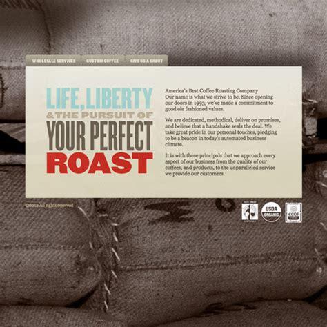 best coffee website 30 stimulating coffee website designs naldz graphics