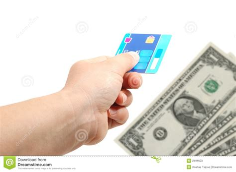 how to make money on credit cards credit card and money stock photos image 2491603