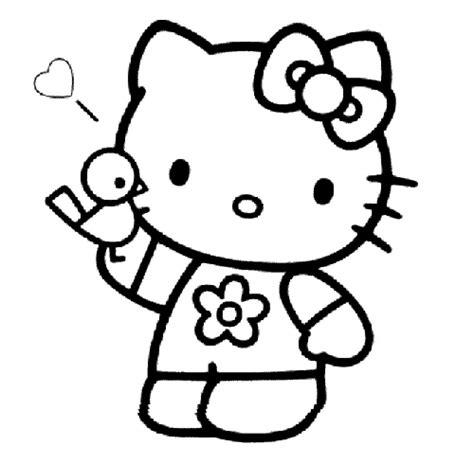 imagenes kitty para dibujar dibujos de chicas para colorear de hello kitty