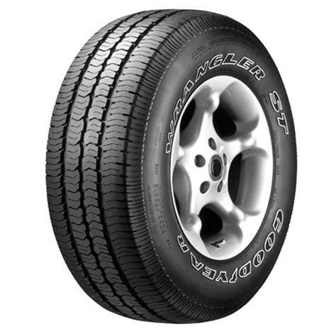 Tires At Walmart Goodyear Goodyear Wrangler St Tire P215 75r16 Walmart