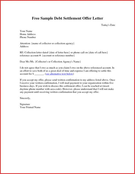 free collection letter template fresh claim letter sle resume pdf