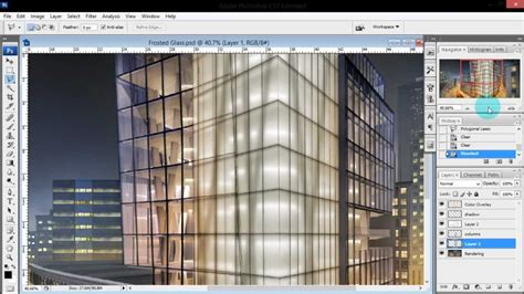 lumion glass tutorial architecture illustrations frosted glass via photoshop