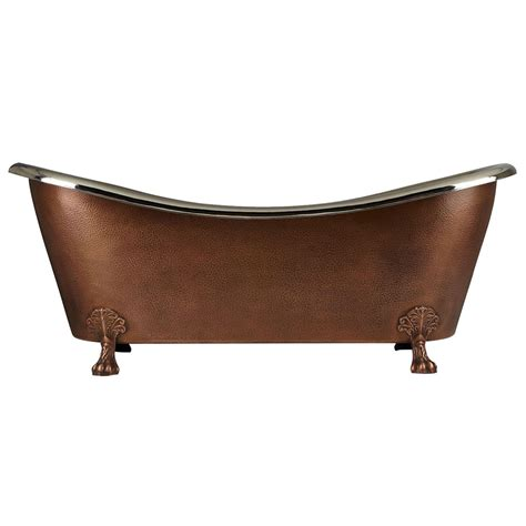 copper bathtub clawfoot design copper bathtub clawfoot tub bathub