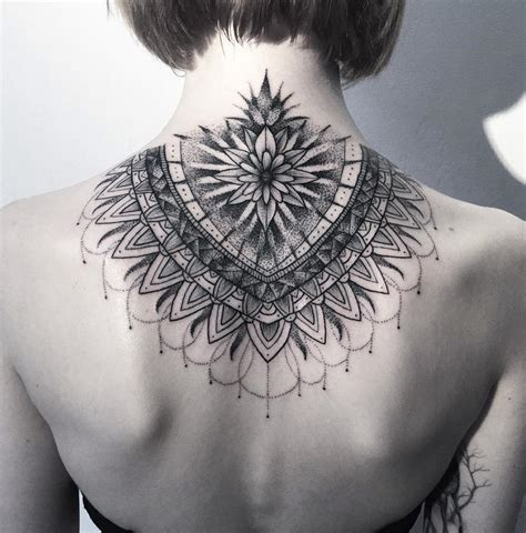 stunning neck mandala best tattoo ideas amp designs