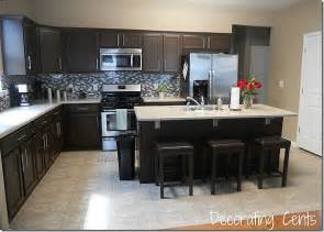 chocolate brown kitchen cabinets pics for gt chocolate brown painted kitchen cabinets