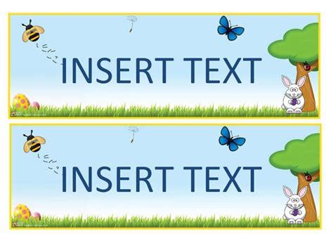 biography banner ks2 teacher s pet displays 187 mini editable spring banners