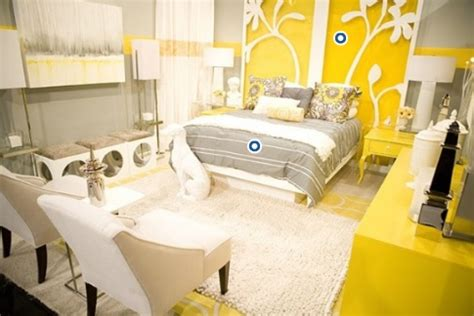 yellow white grey bedroom home design yellow bedroom