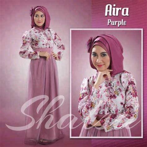 Dress Carta Kancing Bahu Uk S M L busana muslim koleksi terbaru
