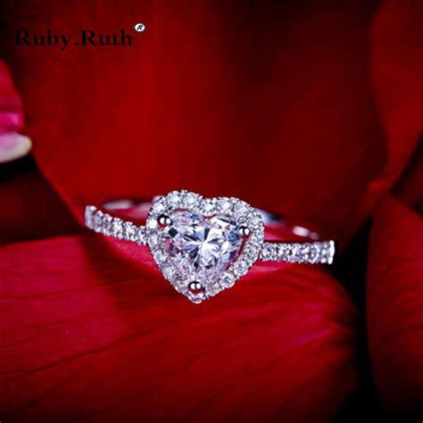 Perhiasan Set Mewah Xuping Synthetic Cubic Zircon buy grosir jantung berbentuk ruby cincin from china jantung berbentuk ruby cincin penjual
