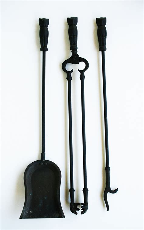 owl fireplace tools item 5142346tb for sale antiques