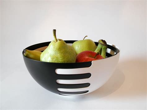 fruit bowl eclipse interlocking fruit bowls black x white more