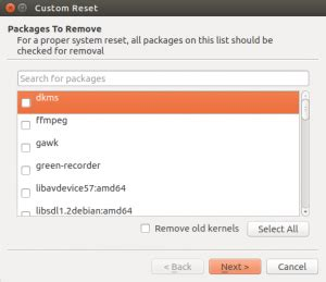 resetter ubuntu download reset ubuntu system to installation stage using resetter