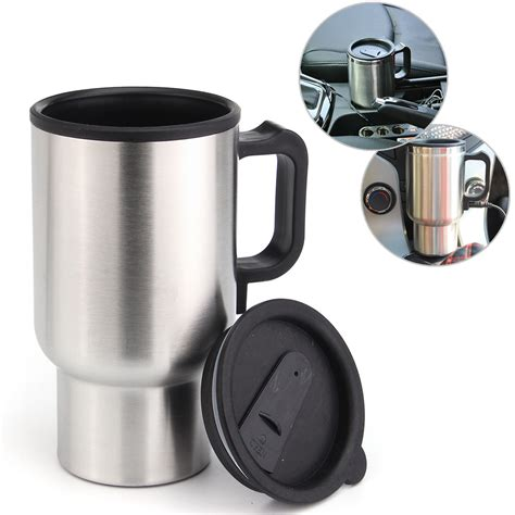 Sa Idealife Automatic Electric Kettle 2 Cups Included Il 100n 12v 450ml stainless kettle car cup pot water auto electric
