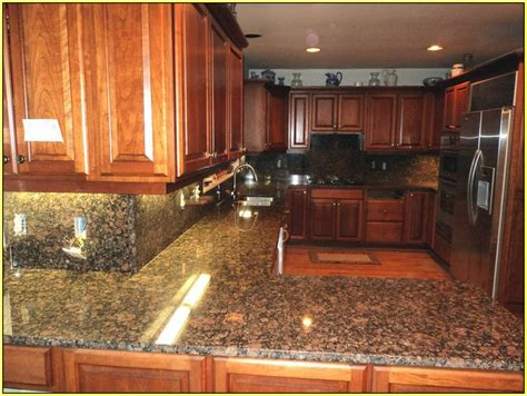 baltic brown granite home design ideas